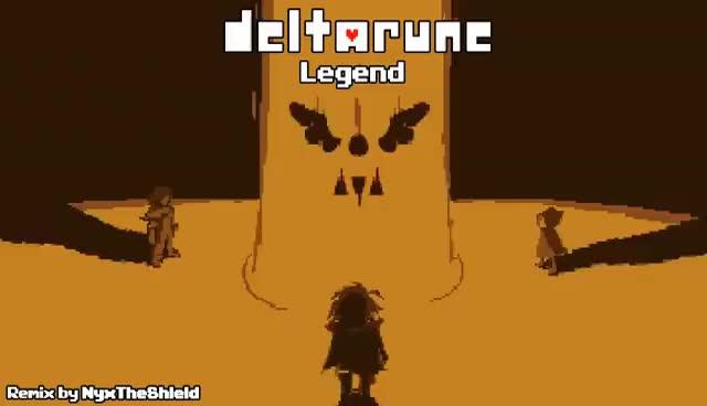 Watch Deltarune - Legend GIF on Gfycat. Discover more Shield, deltarune, glitchtale, jakei95, kamex, nyx, nyxtheshield, sharax, tobyfox, undertale, underverse GIFs on Gfycat