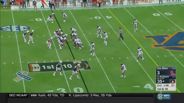 Watch and share NCAAF 2017 Week06 Ole Miss At Auburn GIFs on Gfycat