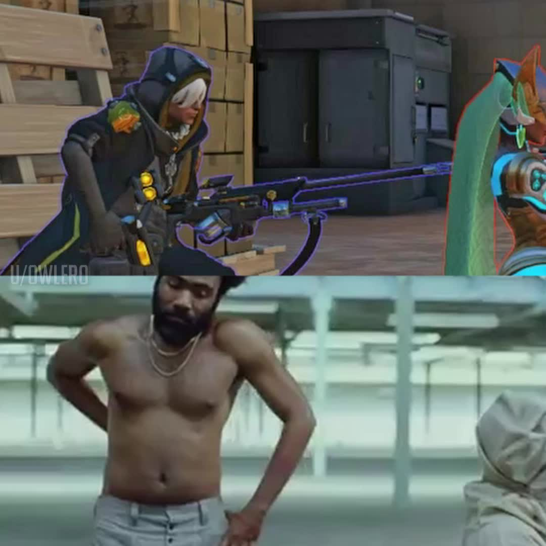 childish gambino, overwatch, This is Overwatch (Explicit Version) GIFs