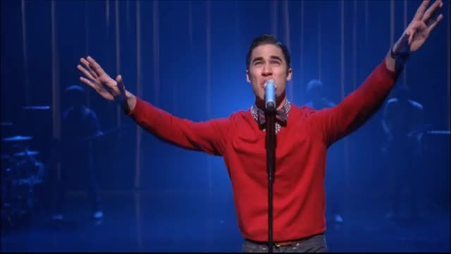Watch Glee - Cough Syrup (Full performance + scene) 3x14 GIF by Paige Duncan (@paigeduncan) on Gfycat. Discover more 3x14, blaine anderson, cough syrup, glee, glee cast, glee performance, on my way, scenes, season 3, young the giant GIFs on Gfycat