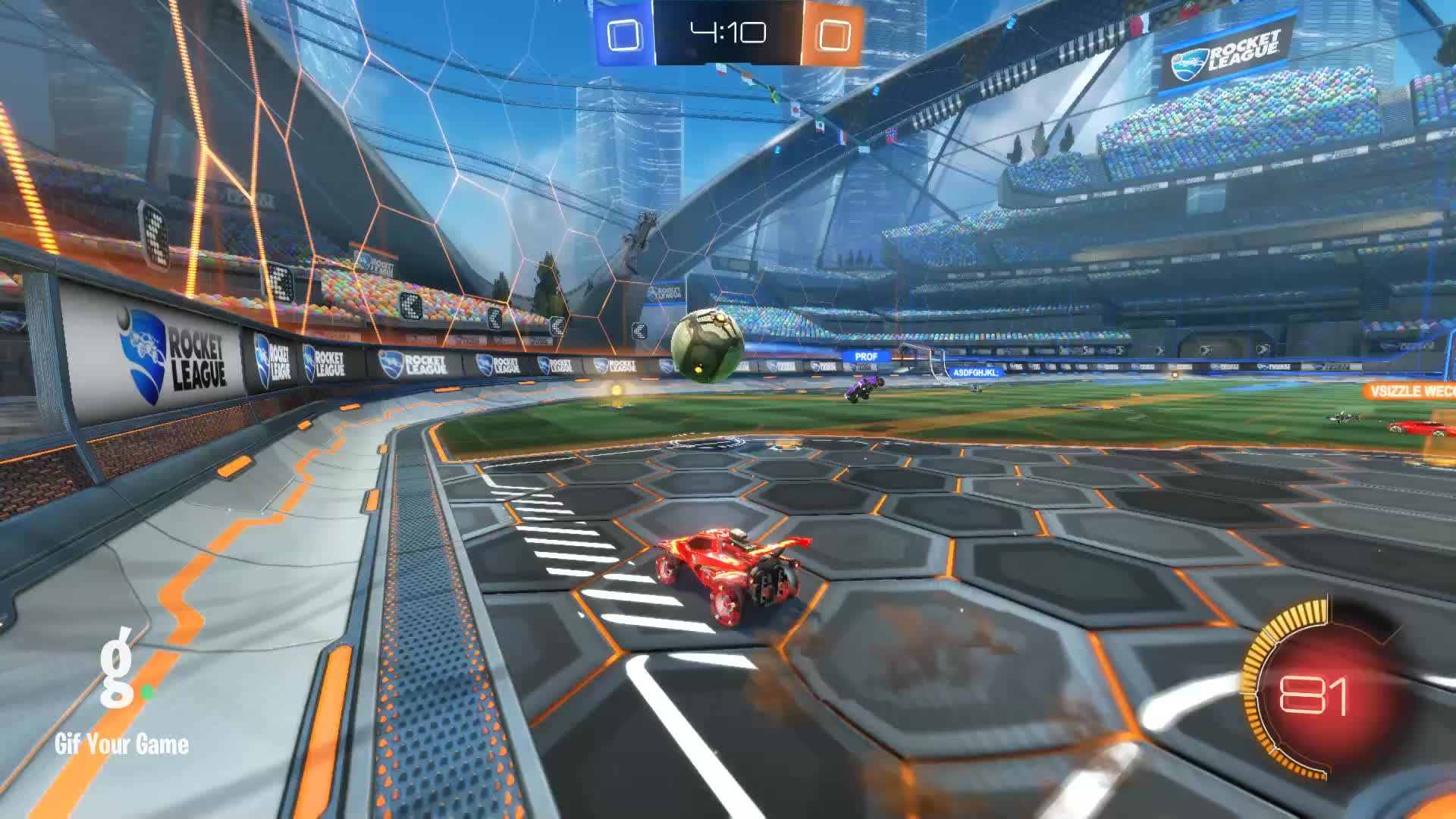 Gif Your Game, GifYourGame, Goal, Rocket League, RocketLeague, calltopower1, Goal 1: calltopower1 GIFs