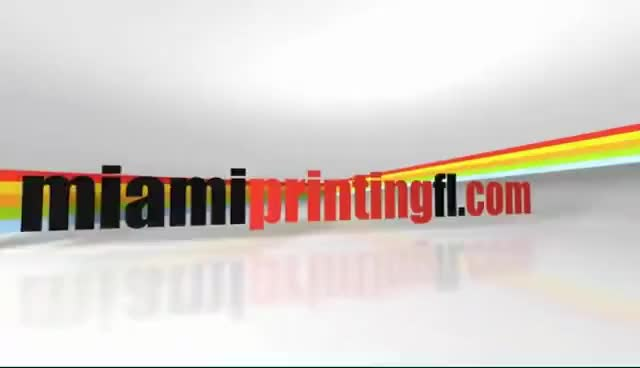 Watch Business Cards, Flyers & Brochures   Miami Printing, FL GIF on Gfycat. Discover more related GIFs on Gfycat