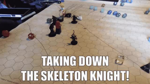 Watch D&D 5e @ Gfycat | Taking down the skeleton knight, faster! GIF by kaseywang (@kaseywang) on Gfycat. Discover more d20, dnd, timelapse GIFs on Gfycat