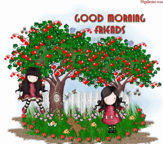 Watch and share Sweet Love Garden In Morning GIFs on Gfycat