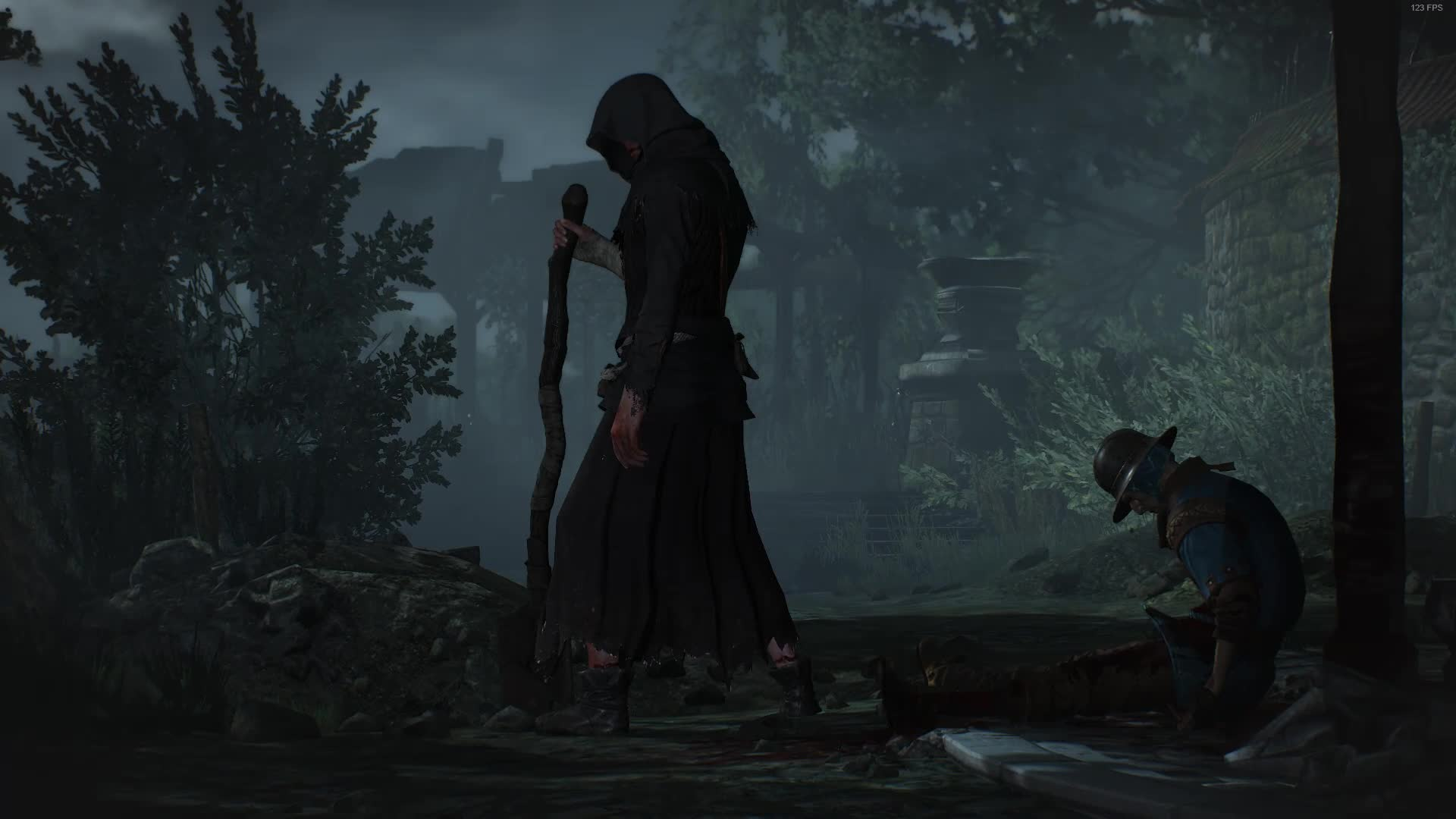 creepy, gaming, Witcher 3- The Caretaker GIFs