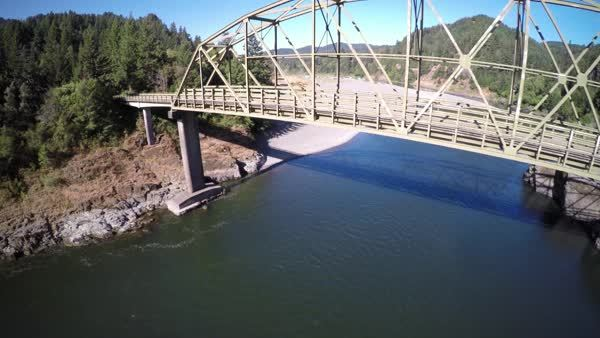djiphantom, Almost hit a bridge. Now I have a question about signal range. Near miss footage include. (reddit) GIFs