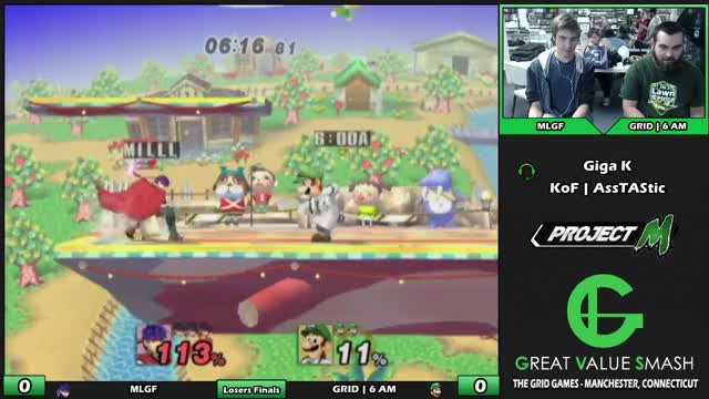 Watch and share MLGF (Ike) VS GRID | 6AM (Luigi/Link) | Grid Weekly Losers Finals GIFs by Jacob Bjornberg on Gfycat