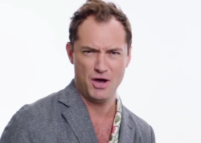 Watch and share Jude Law GIFs by GIF Machine on Gfycat