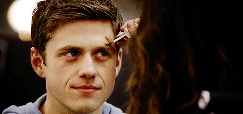 Watch . gifs _  GIF on Gfycat. Discover more aaron tveit GIFs on Gfycat