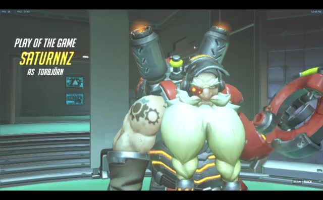 Watch Every Torbjörn Play of the Game Ever GIF by @saturnnz on Gfycat. Discover more Overwatch GIFs on Gfycat