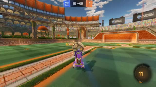Watch Goal 4: Ceiling Dion GIF by Gif Your Game (@gifyourgame) on Gfycat. Discover more Ceiling Dion, Gif Your Game, GifYourGame, Goal, Rocket League, RocketLeague GIFs on Gfycat