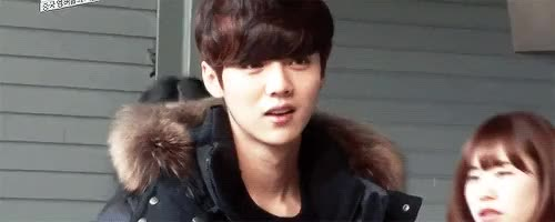 Watch and share Joonmyeon GIFs and Baekhyun GIFs on Gfycat