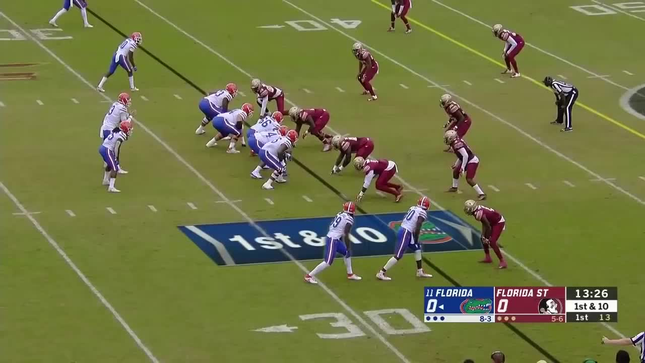 College Football (Sport), Florida Gators Football (American Football Team), Sports, University Of Florida (College/University), libgator, 18.12 Florida Gators Offense vs Florida State GIFs