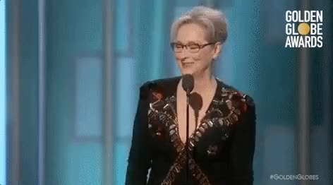 Watch meryl streep golden globes GIF on Gfycat. Discover more related GIFs on Gfycat