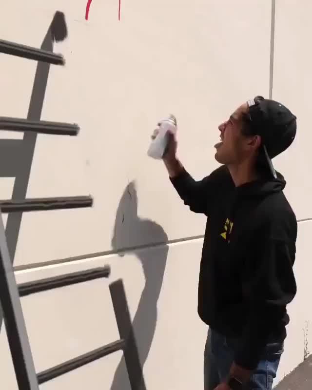 Outstanding graffiti skills