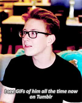 Watch and share Tyler Oakley GIFs and Auguest GIFs on Gfycat