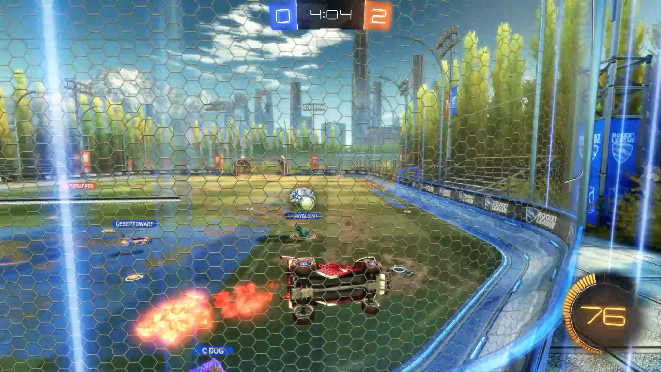 Bad Panda, BadPanda, Rocket League, RocketLeague, Goal 3: C DOG GIFs