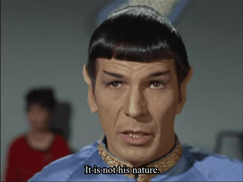Watch spock logic GIF on Gfycat. Discover more leonard nimoy GIFs on Gfycat