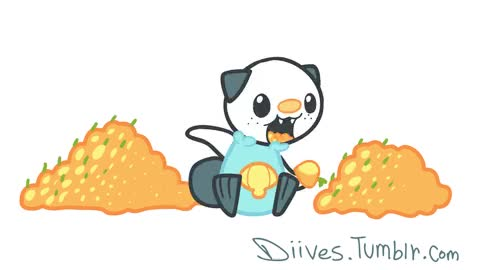 Watch Gen 5 goes to Oshawott! I love him because he is very cute and his Final one is BADASS! GIF on Gfycat. Discover more related GIFs on Gfycat