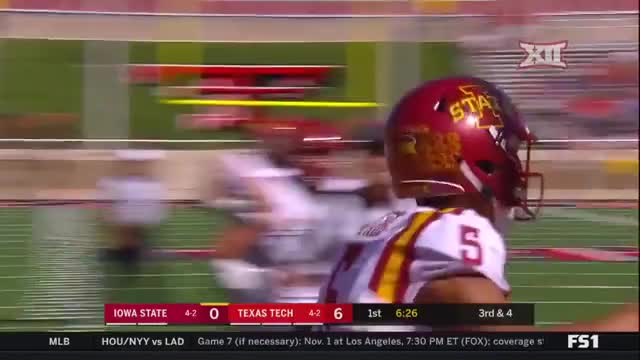 Watch and share Iowa State Cyclones - Fumble GIFs by LandGrant Gauntlet on Gfycat