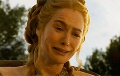 4x02, Cersei Lannister, Jack Gleeson, Lena Headey, cersei lannister, crying, game of thrones, gifs, got spoilers, jack gleeson, joffrey lannister, lena headey, spoilers, Oft hope is born when all is forlorn GIFs
