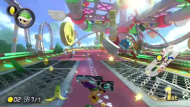 Watch and share Nintendo Switch GIFs and Mario Kart 8 GIFs by eyesack on Gfycat