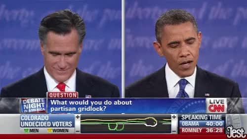 Watch and share Barack Obama GIFs and Mitt Romney GIFs on Gfycat