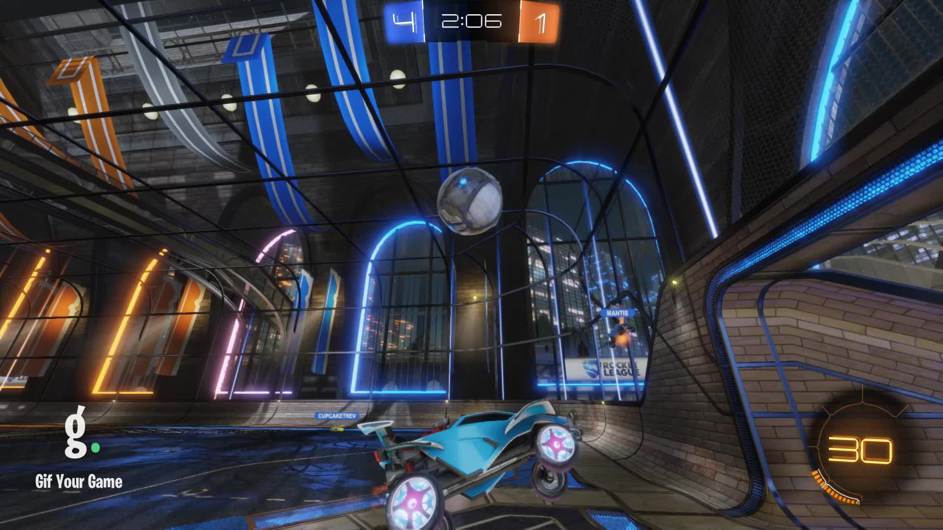 Damned, Gif Your Game, GifYourGame, Goal, Rocket League, RocketLeague, Goal 6: Bastard(nl) GIFs