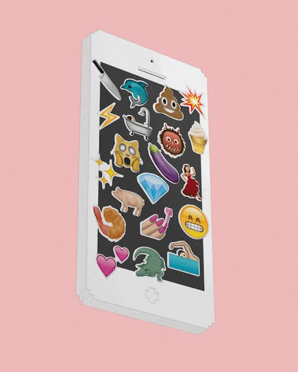Watch and share Emoji, Animated, Phone, Iphone GIFs on Gfycat