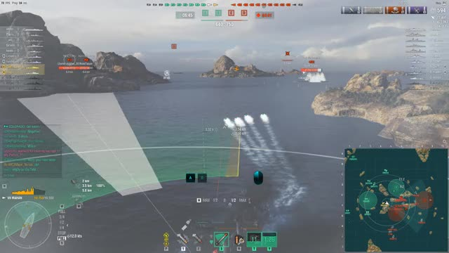 Watch and share World Of Warships GIFs and Caused Flooding GIFs by Overwolf on Gfycat