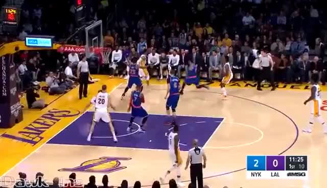 Derrick Rose Full Highlights 2016 12 11 at Lakers - NASTY 25 Pts, 12