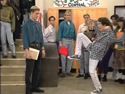 Watch and share Saved By The Bell GIFs on Gfycat