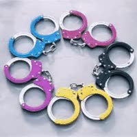 Watch and share Color Flashing Handcuffs GIFs on Gfycat