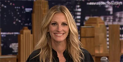 Watch and share The Tonight Show GIFs and Julia Roberts GIFs on Gfycat
