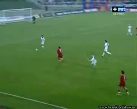 Watch Czerkas incredible gol GIF on Gfycat. Discover more Adam Czerkas, Czerkas goal, funny goal, lucky goal GIFs on Gfycat