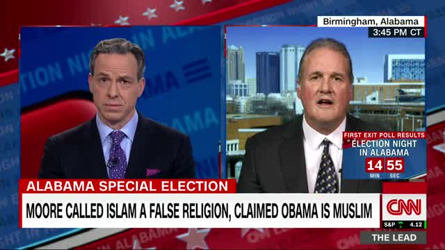 Watch Jake Tapper fact checks Roy Moore spokesman GIF on Gfycat. Discover more Alabama, CNN, Happening Now, Politics, Roy Moore, Senate, Ted Crockett, The Lead, jake Tapper, latest News GIFs on Gfycat