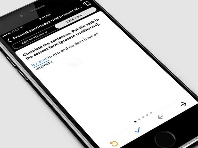 Redesigning Murphy's English Grammar In Use iOS App