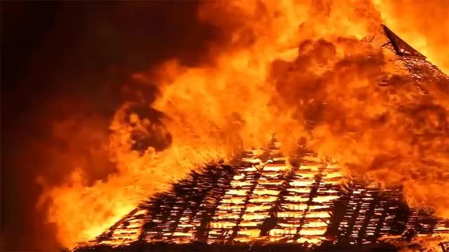 Watch and share Burning Pyramids GIFs on Gfycat