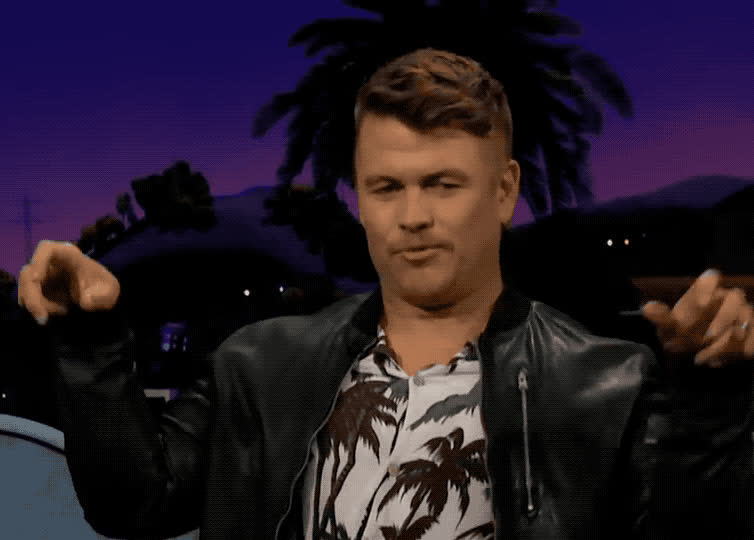 afraid, beware, corden, funny, haha, hemsworth, hilarious, james, late, late late, lol, luke, night, out, scared, scary, show, spider, watch, Luke Hemsworth is funny GIFs
