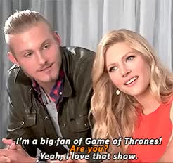 Latest Vikings Cast GIFs | Find the top GIF on Gfycat