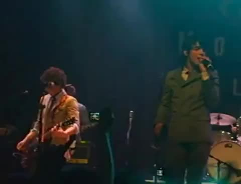 Watch jonas brothers GIF on Gfycat. Discover more 7-2-07, blues, brothers, clevland, house, jonas, sos GIFs on Gfycat