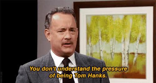 tom hanks, Tom Hanks pressure GIFs