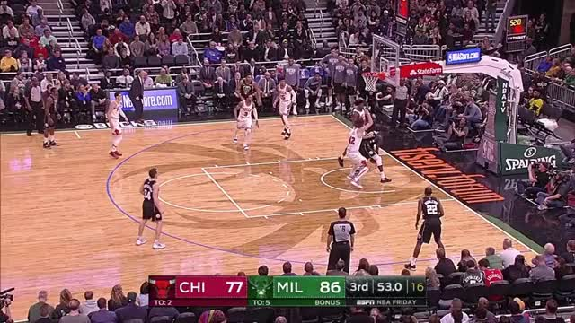 Watch Maker decision making GIF by benmallis on Gfycat. Discover more Chicago Bulls, Milwaukee Bucks, NBA, basketball GIFs on Gfycat