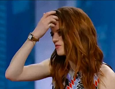 Watch and share Rose Leslie GIFs on Gfycat