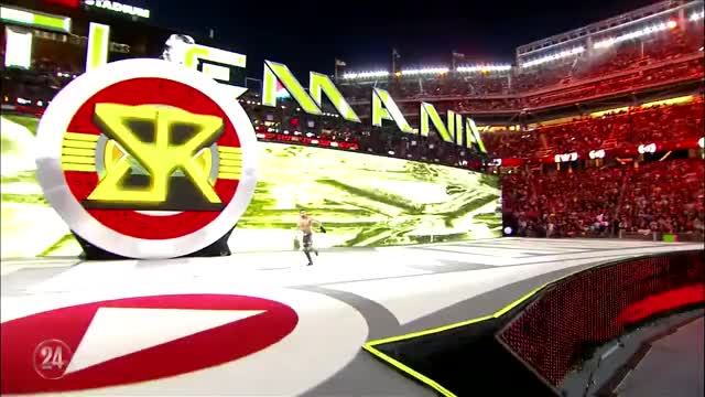 Watch and share WWE24: Roman Reigns Mother's Reaction When Seth Rollins' Music Hit At WrestleMania (reddit) GIFs on Gfycat