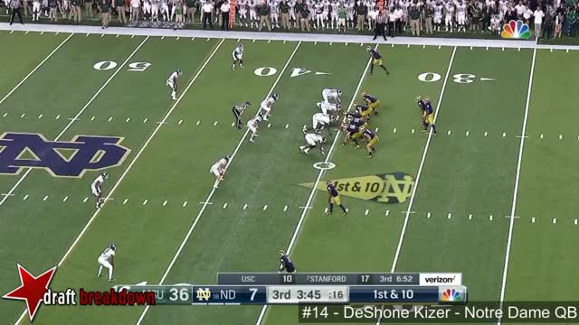 Watch and share DeShone Kizer (Notre Dame QB) Vs Michigan State 2016 GIFs by Sean McKaveney on Gfycat