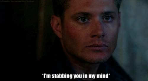 Watch dean winchester, happy thoughts, jensen ackles, sarcasm GIF on Gfycat. Discover more jensen ackles GIFs on Gfycat