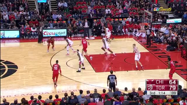Watch and share Toronto Raptors GIFs and Chicago Bulls GIFs on Gfycat