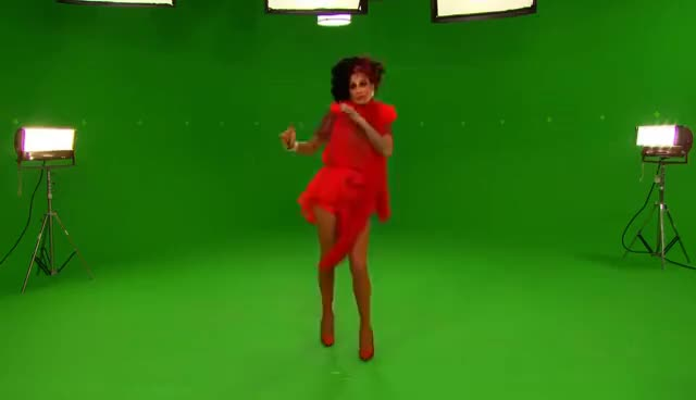 Watch and share RuPaul's Green Screen Christmas BLOOPERS | Airs Dec 13 On Logo GIFs on Gfycat