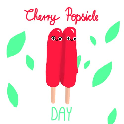 Watch this trending GIF by The GIF Smith (@sannahparker) on Gfycat. Discover more cherry popsicle day, dessert, frozen, summer, treat GIFs on Gfycat